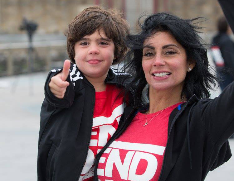 Pietro and Dayna Scarso celebrate the FDA's announcement to approve Eteplirsen, the first drug ever made available to patients with Duchenne muscular dystrophy. Photo by: Marino Photography