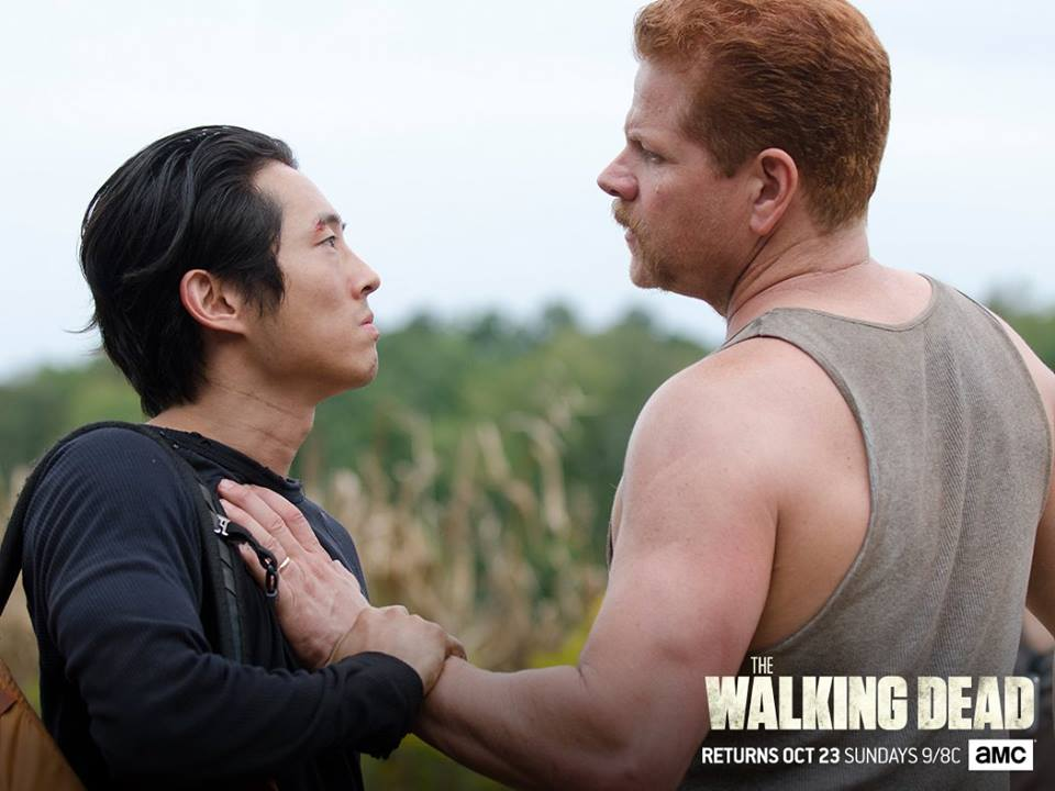 "It was a sad day for ""Walking Dead"" fanatics as both Abraham and Glenn met their demise."