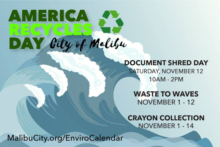 America Recycles Day Malibu