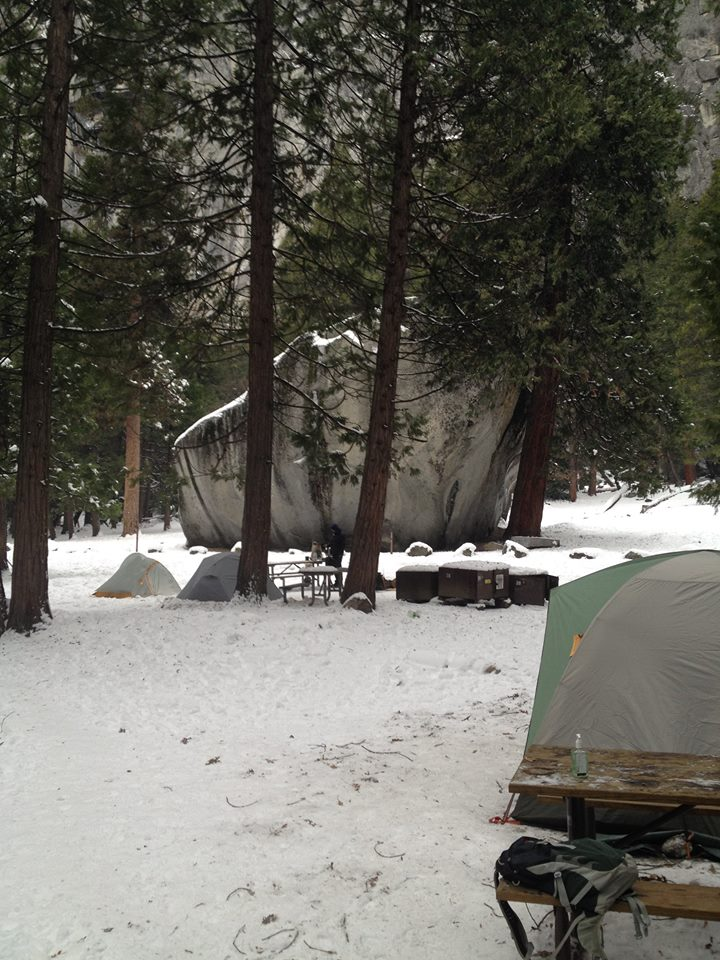 Campsite 4 Yosemite National Park