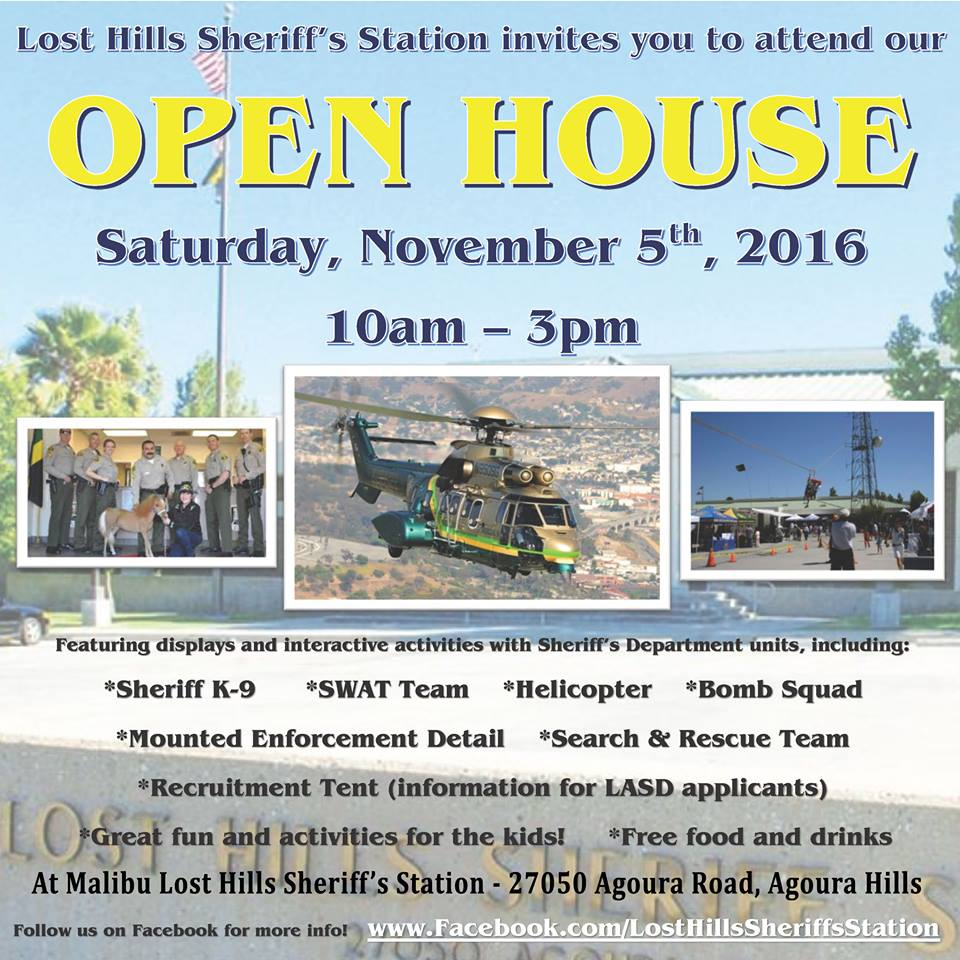 Lost Hills Sheriff's Station Open House