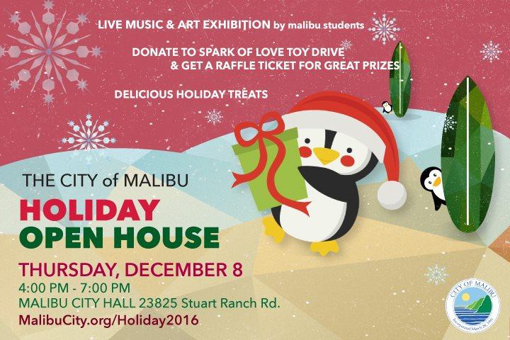 Malibu Holiday Open House