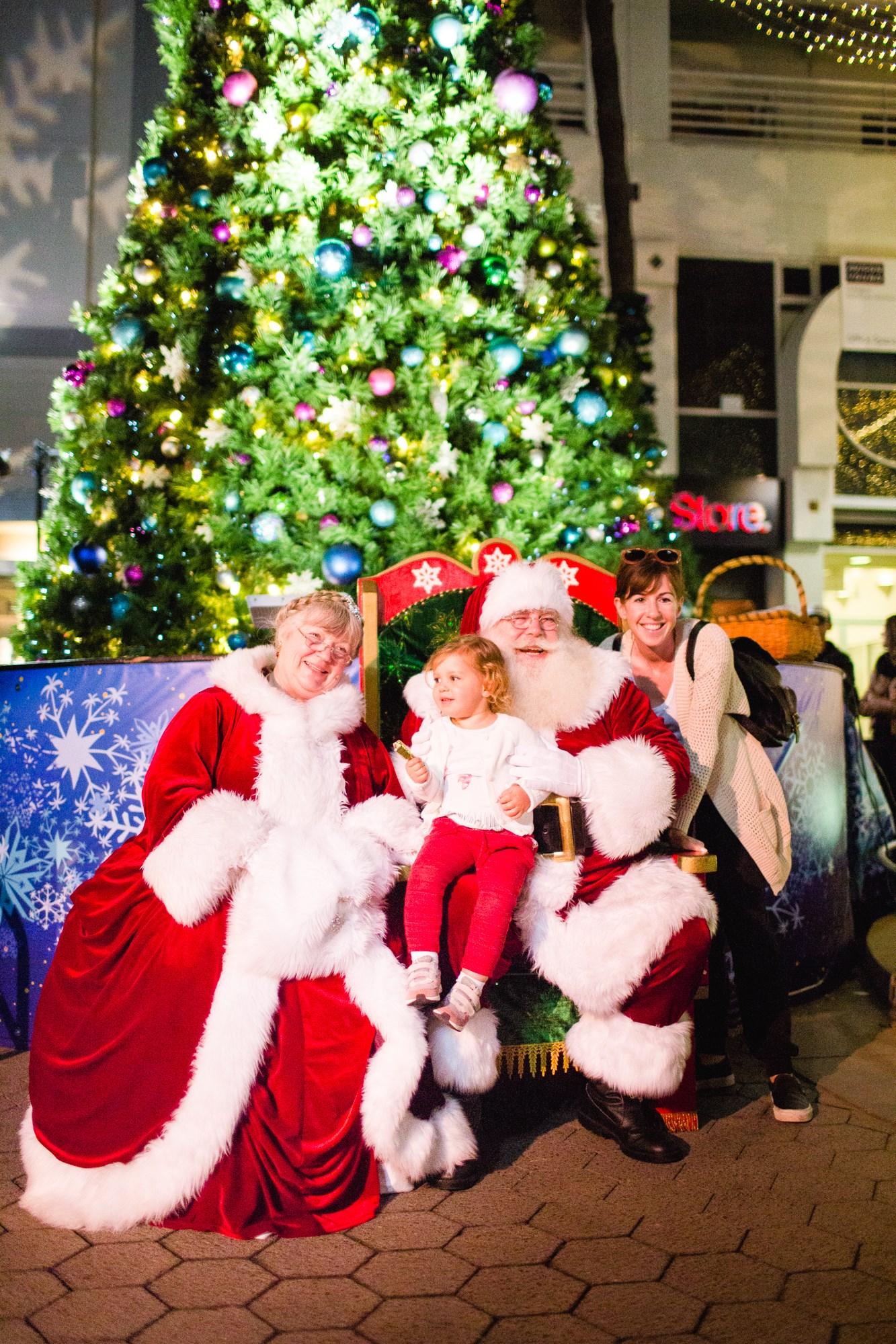 Santa Monica Holiday Tree Lightning Party