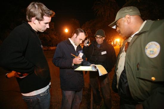 Volunteers Santa Monica Homelessness Count
