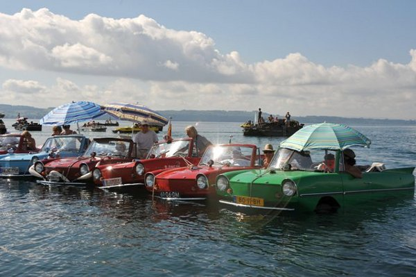 Aquatic cars