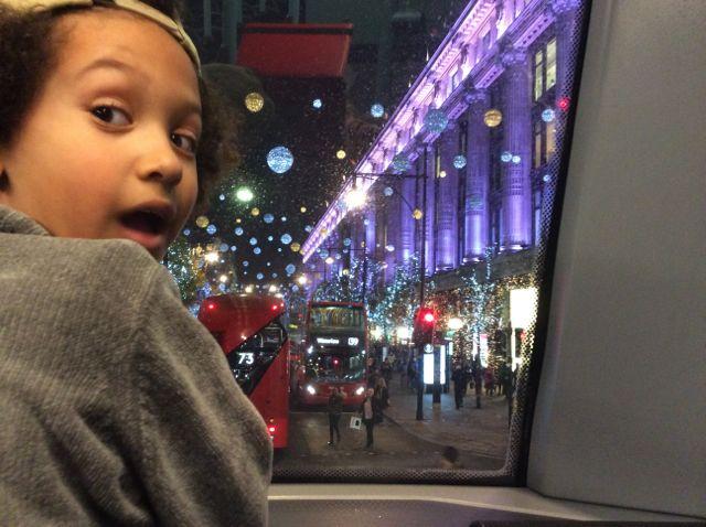 Selfridges, London Christmas 2016.