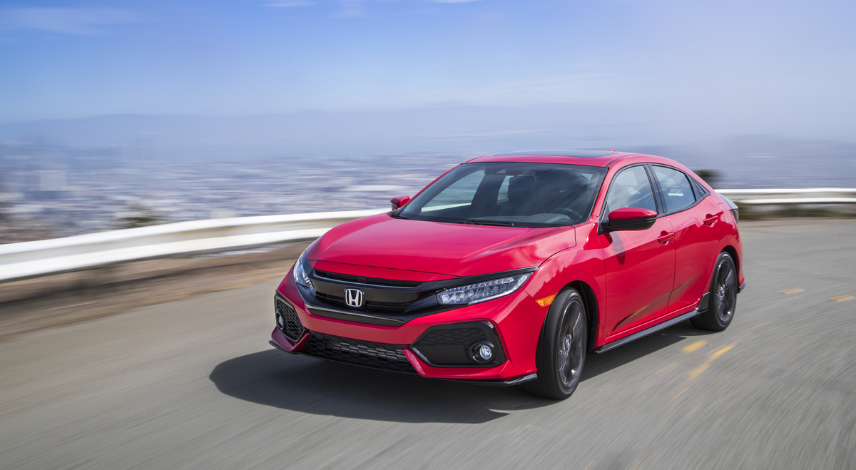 2017 Civic Hatchback Sport