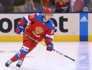30 year-old center Vadim Shipachyov ranked third in scoring attained 50 assists, as well as 76 points in 50 games in the Kontinental Hockey League
