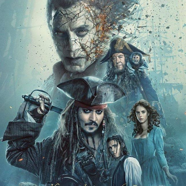 "Johnny Depp returns in ""Pirates of the Caribbean: Dead Men Tell No Tales."""