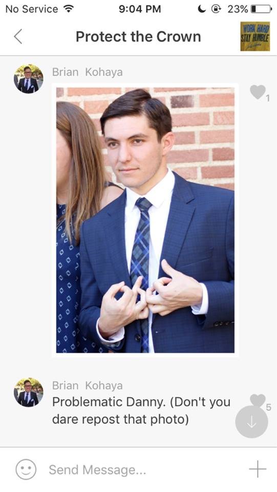 Leaked photo of UCLA student president posing with gang sign sparked outcries among black student organizations.