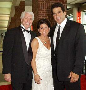 Bill and Tani Austin with Lou Ferrigno