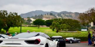 Cars and coffee event