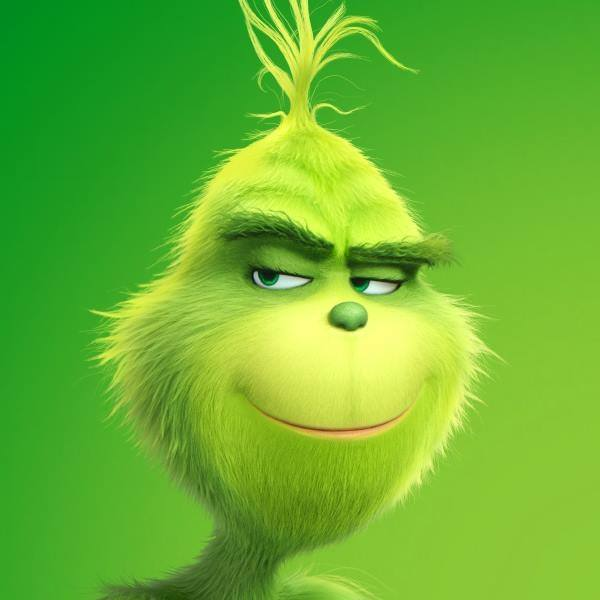 This is a graphic of Breathtaking Images of the Grinch