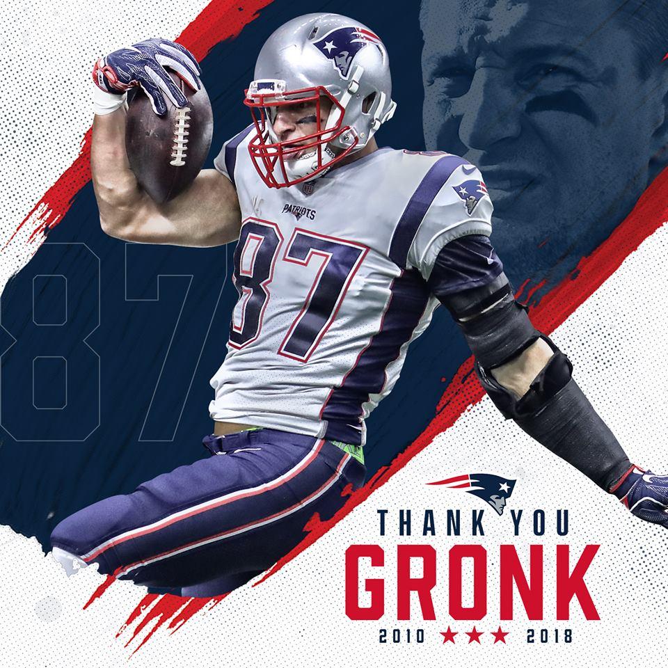 Patriots Star Rob Gronkowski Retiring Canyon News