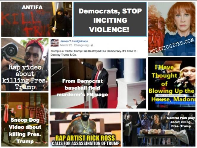 Celebrity Death Threats Against President Trump - Canyon News