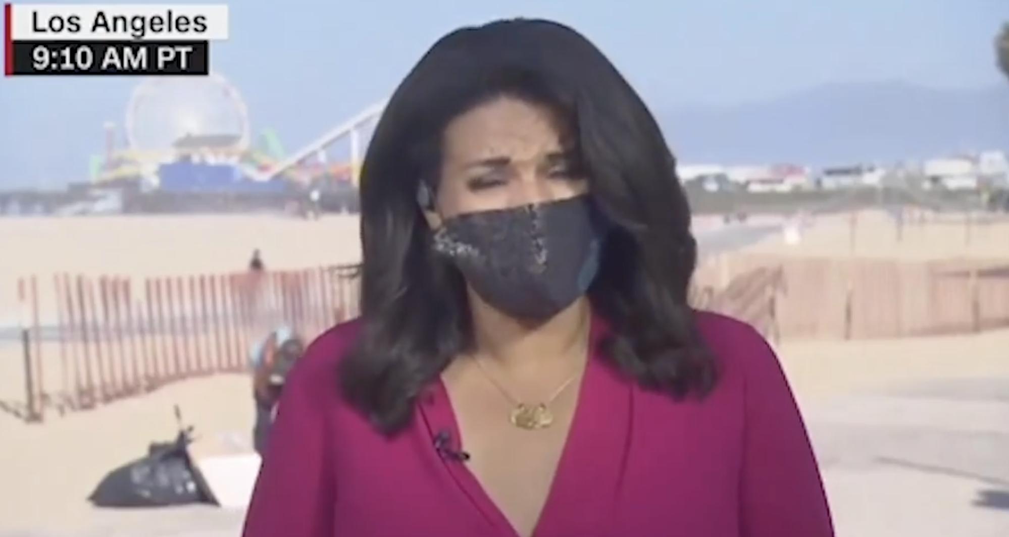 canyon-news.com - Santa Monica Woman Defecates During Live CNN Broadcast